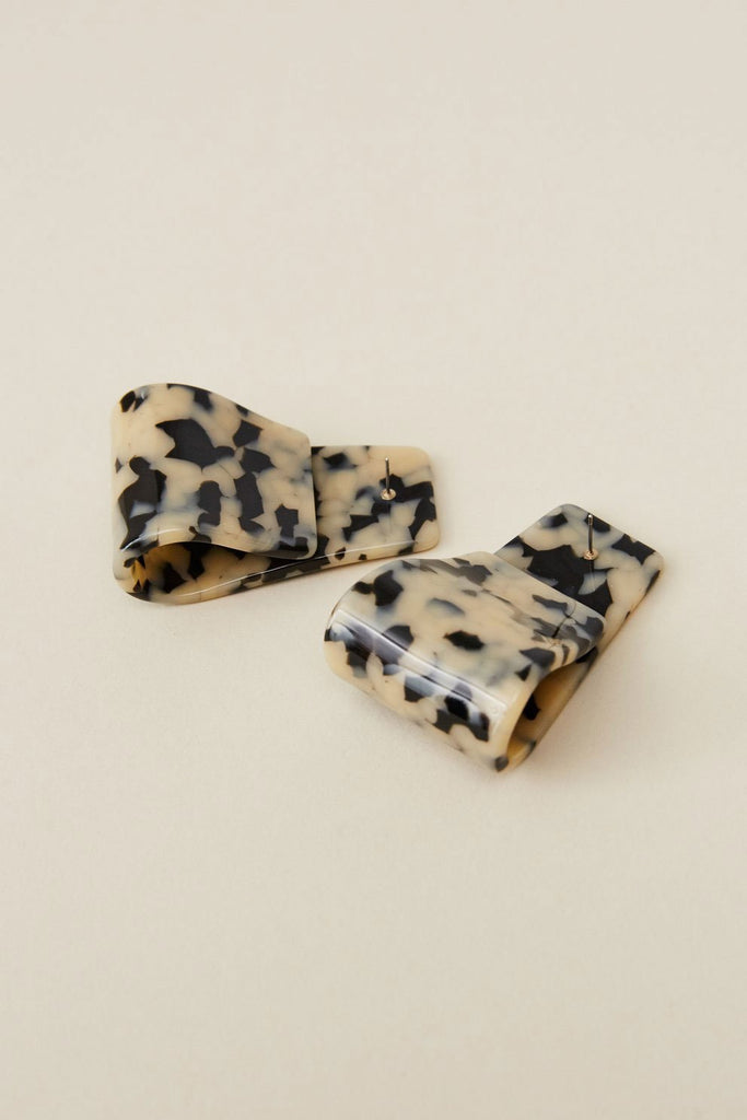 Rachel Comey - Slalom Earrings, Dalmation