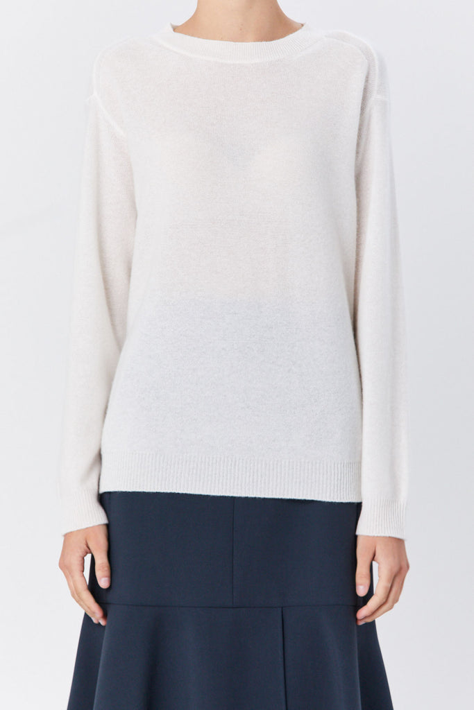 Sofie D'Hoore - Crewneck Sweater, Almond