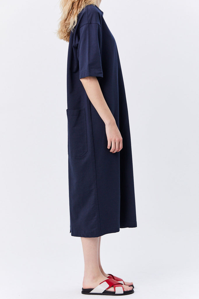 Sofie D'Hoore - Tail Dress with Pockets, Navy