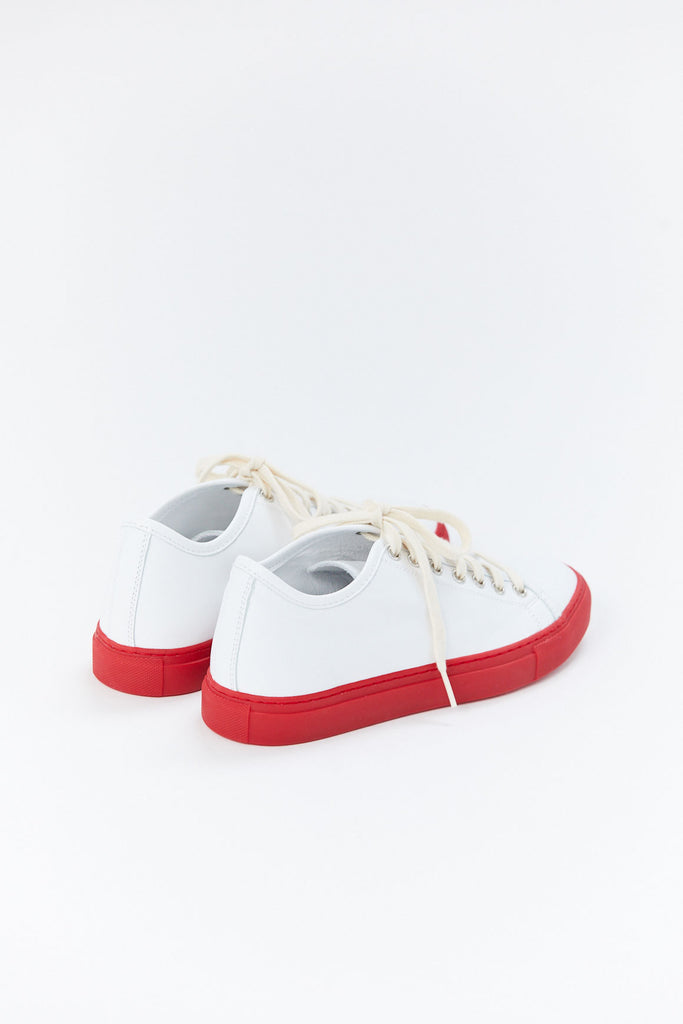 Sofie D'Hoore - Frida Sneaker, White & Red
