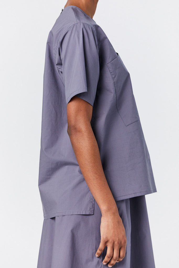Sofie D'Hoore - Pocket Shirt, Steel