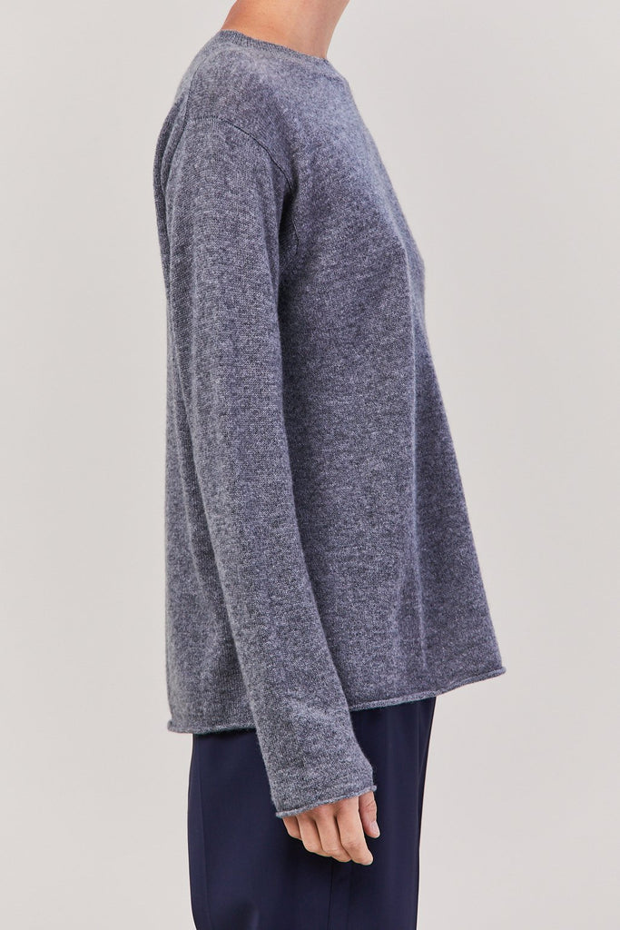 Sofie D'Hoore - 1 Ply Sweater, Oyster Grey