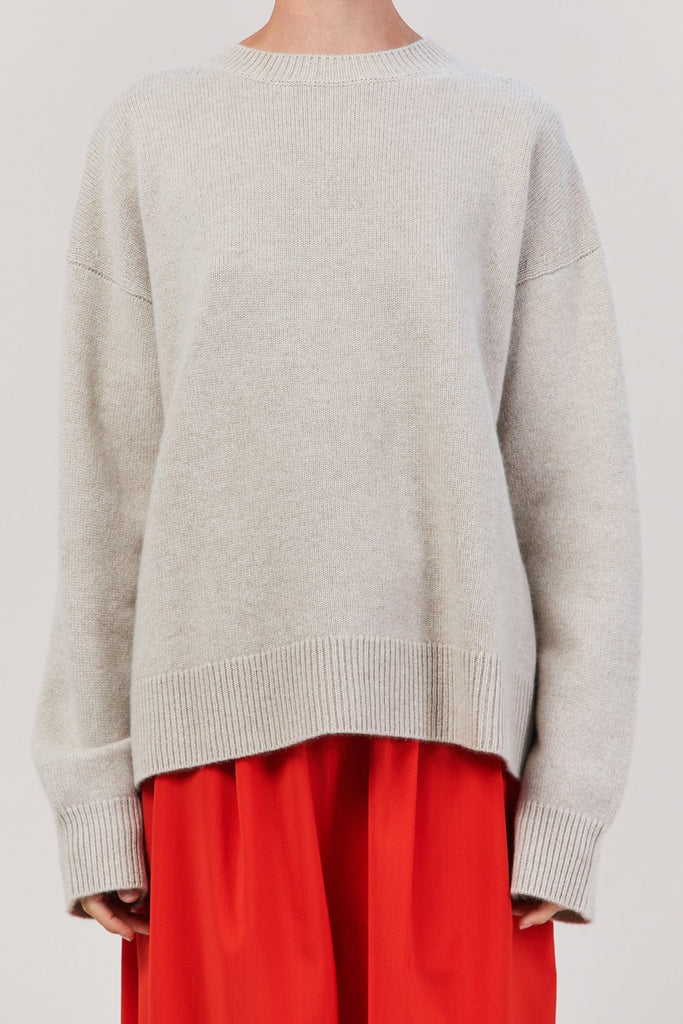 Sofie D'Hoore - 3 Ply Sweater, Pearl