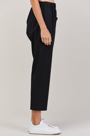 Punch Woga one pocket pant, Black
