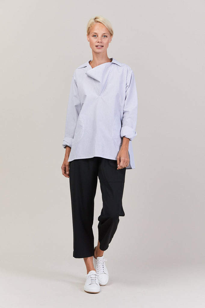 Sofie D'Hoore - BREENA stripe shirt with collar