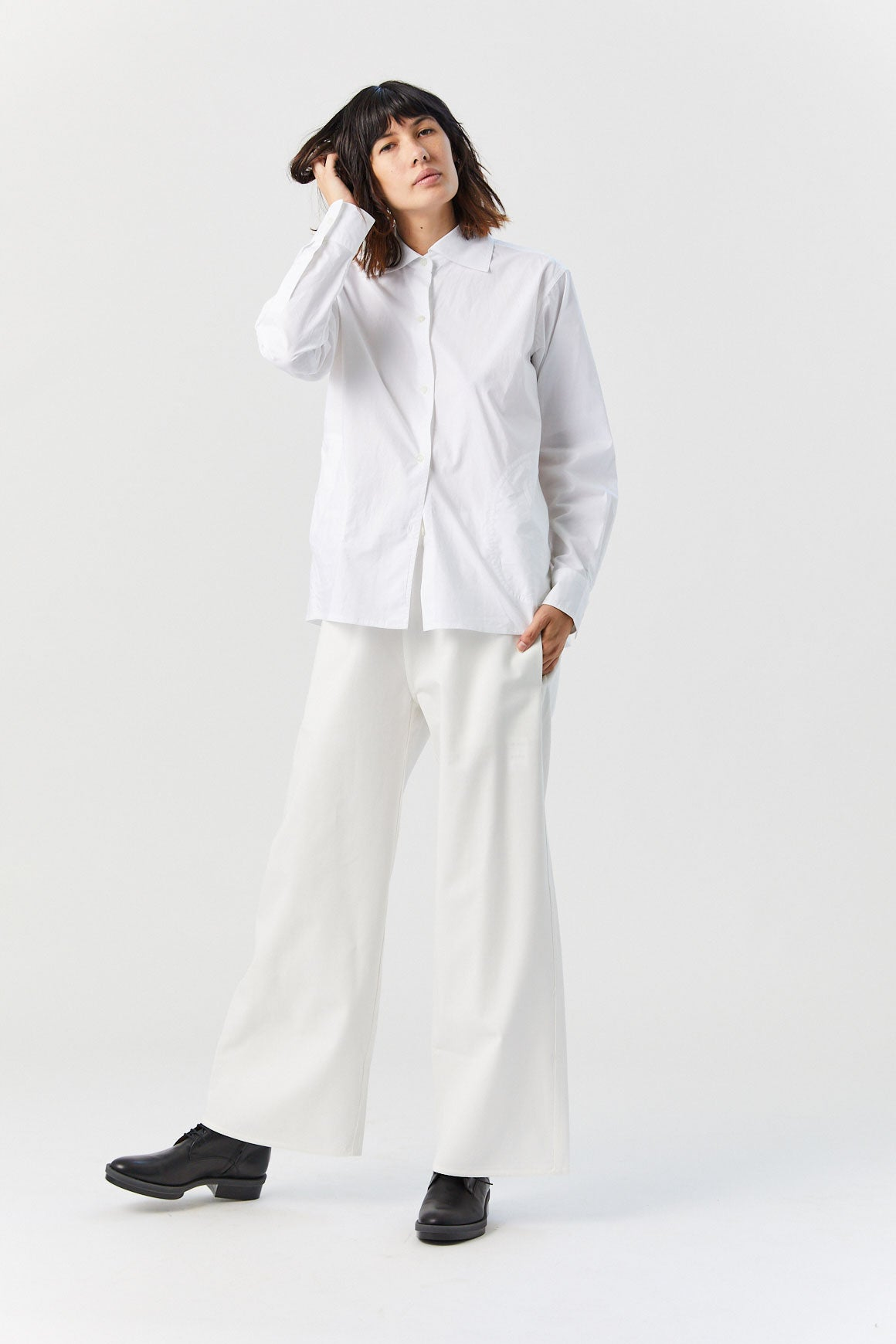 SOFIE D'HOORE - Billy Button Down, White