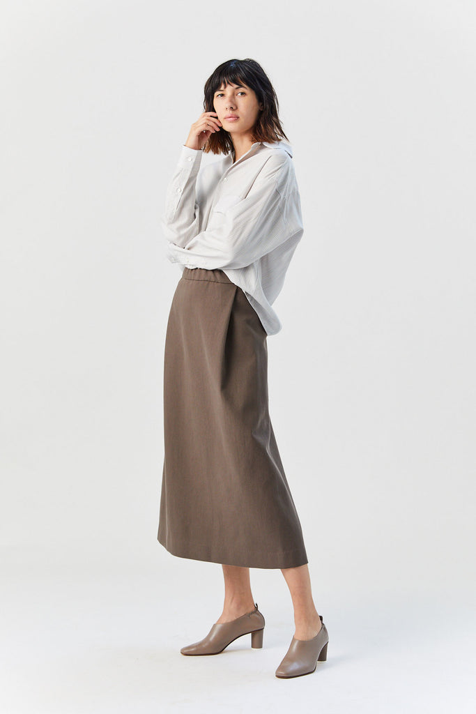 Broadleaf Skirt, Brown