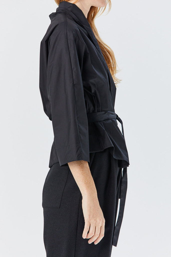 Stephan Schneider - Circle Cardigan, Black