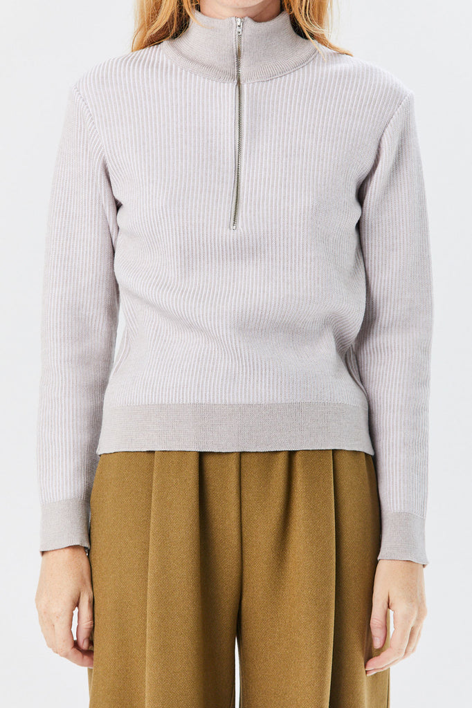 Stephan Schneider - Prosaic Jumper, Light Grey