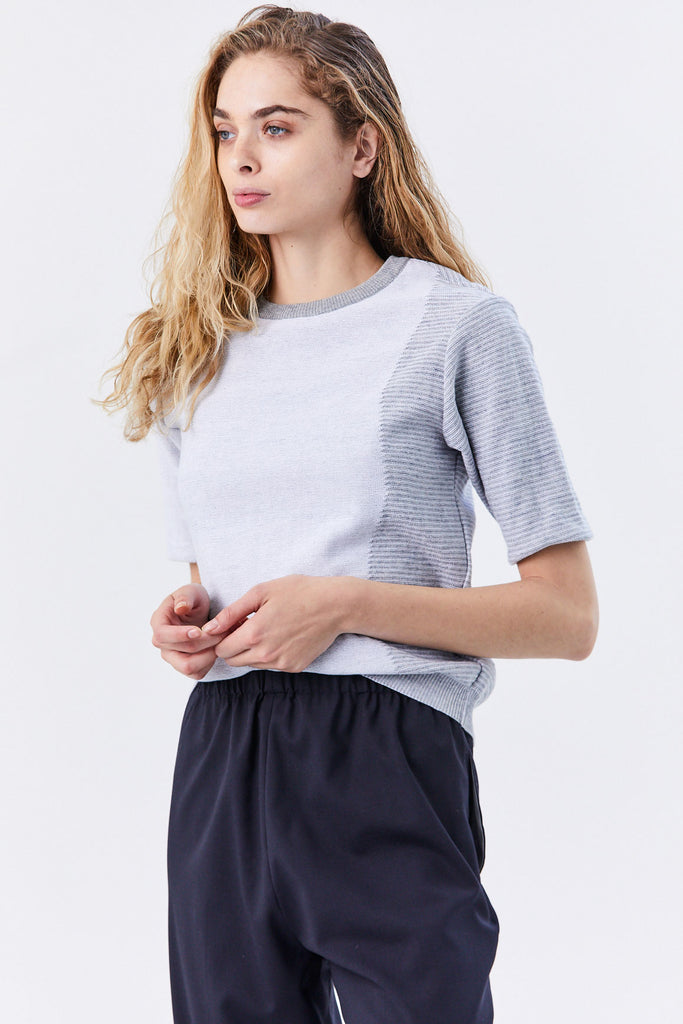 Stephan Schneider - Zeno Top, Light Grey