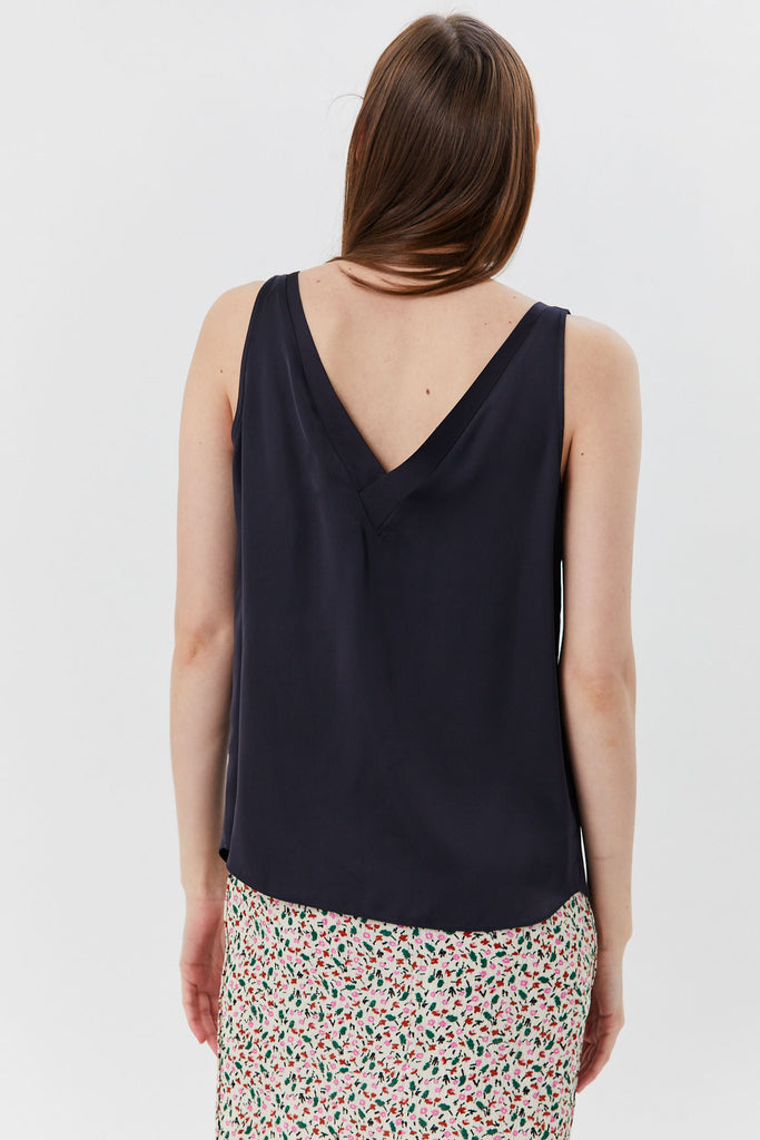 Stephan Schneider - Tank Top, Navy