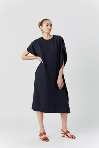 Candela Dress, Dark Navy