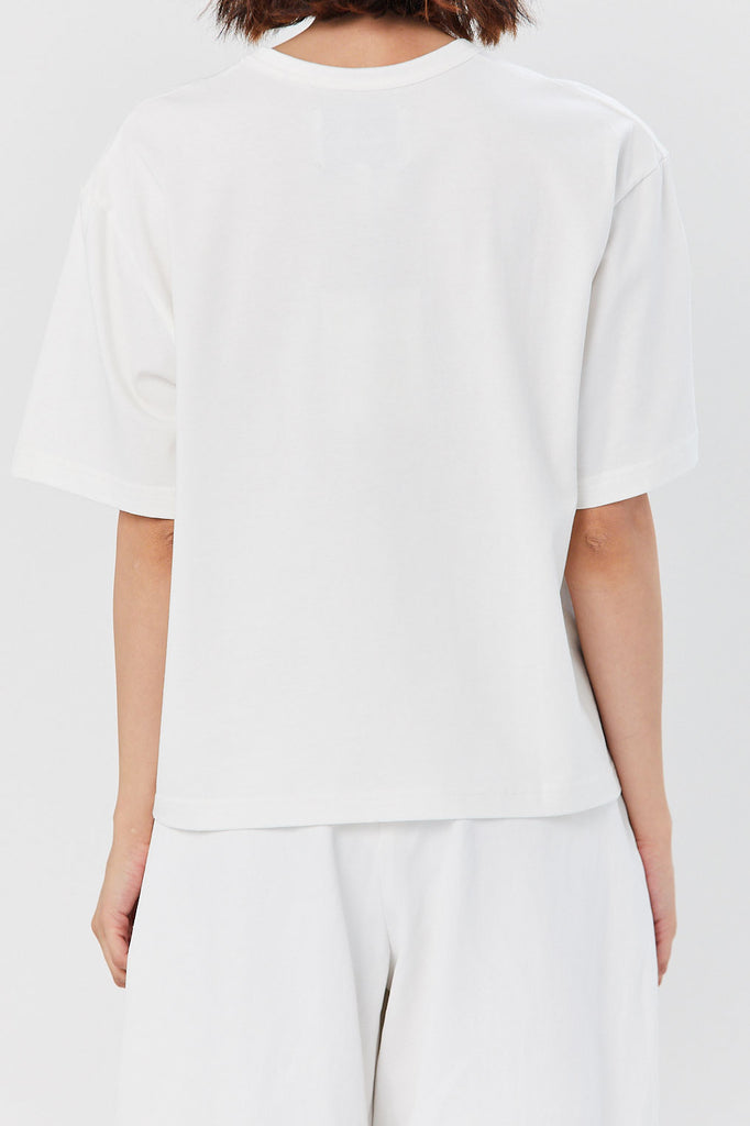 Studio Nicholson - Lee T-Shirt, Optic White