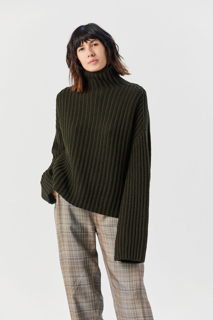 Studio Nicholson - Pascal Sweater, Forest