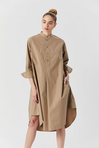 Galvan Dress, Tan