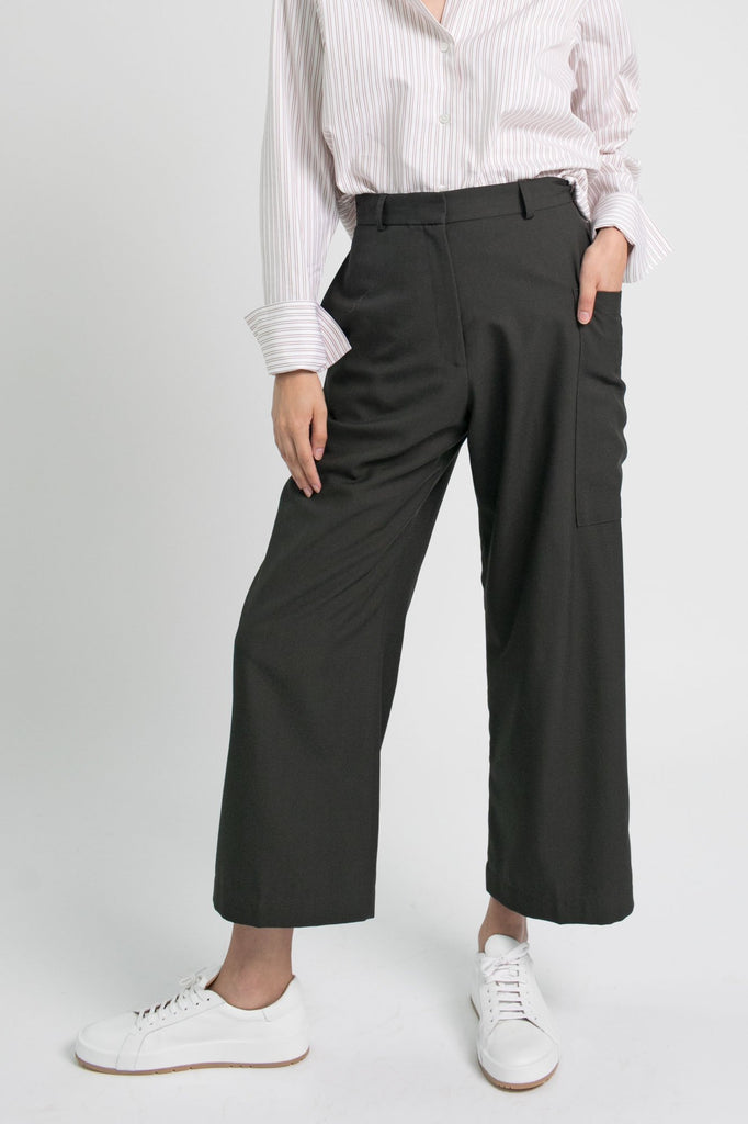 Tailored Utility Pant, Forest