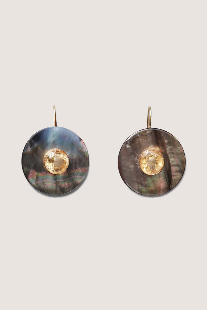 Lizzie Fortunato - Taj Disc Earrings