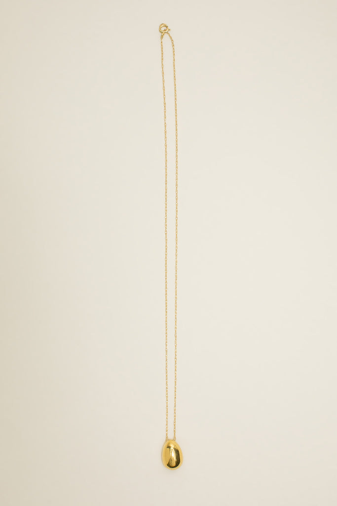 Tiny egg pendant, Gold Vermeil by SOPHIE BUHAI @ Kick Pleat - 2