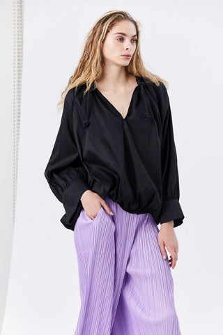 Armo Blouse, Black