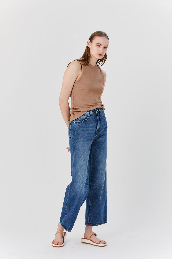 Totême - Flair Denim, Washed Blue