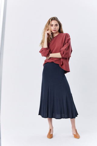 Lauret Skirt, Blue Dawn