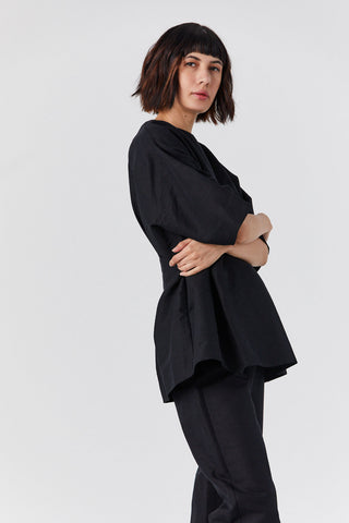 Loano Blouse, Black