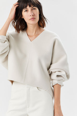 Rennes Sweater, Creme