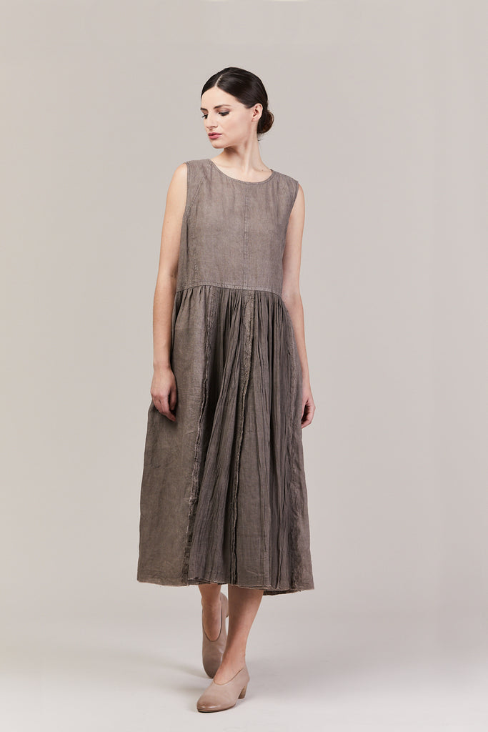 Sleeveless Dress, Grey