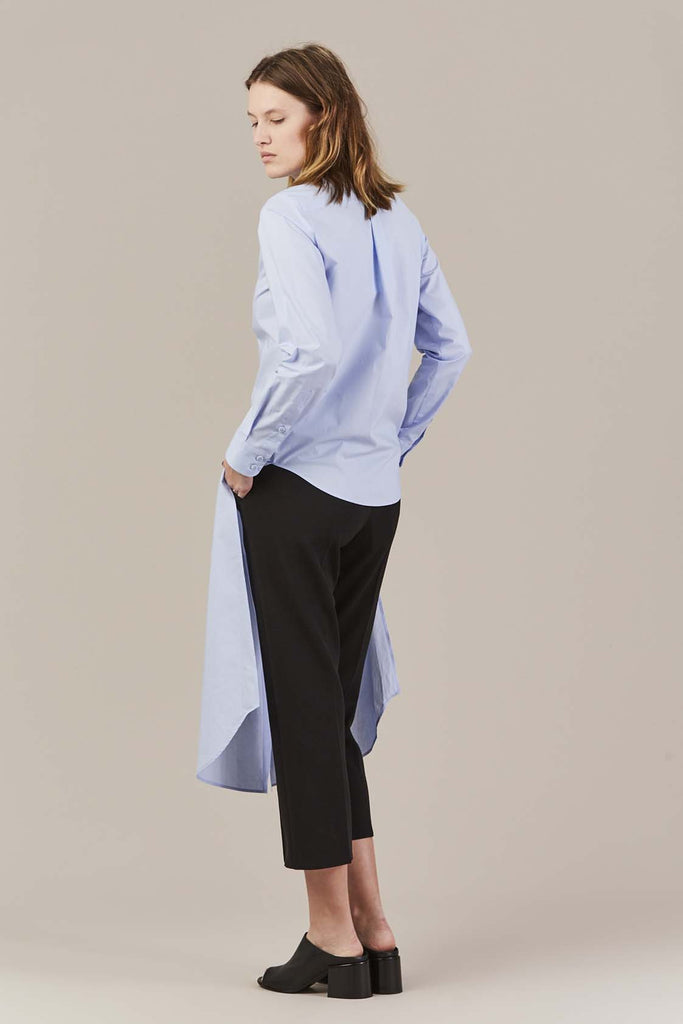 Long Blue Top by MM6 Maison Martin Margiela
