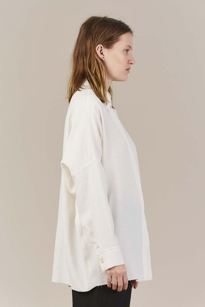 Raw Edge Blouse, Calico by MM6 by Maison Martin Margiela