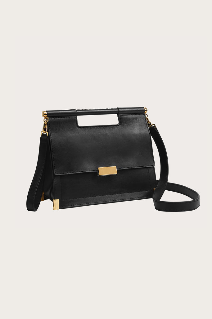 Valencia satchel bag, Black