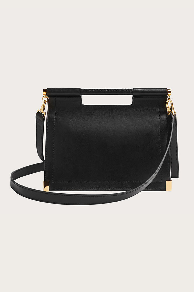 Valencia Satchel Bag, Black by Want les Essentiels