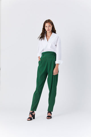 Belted Pant, Green