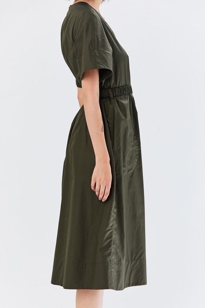 Veronique Leroy - Belted Dress, Forest