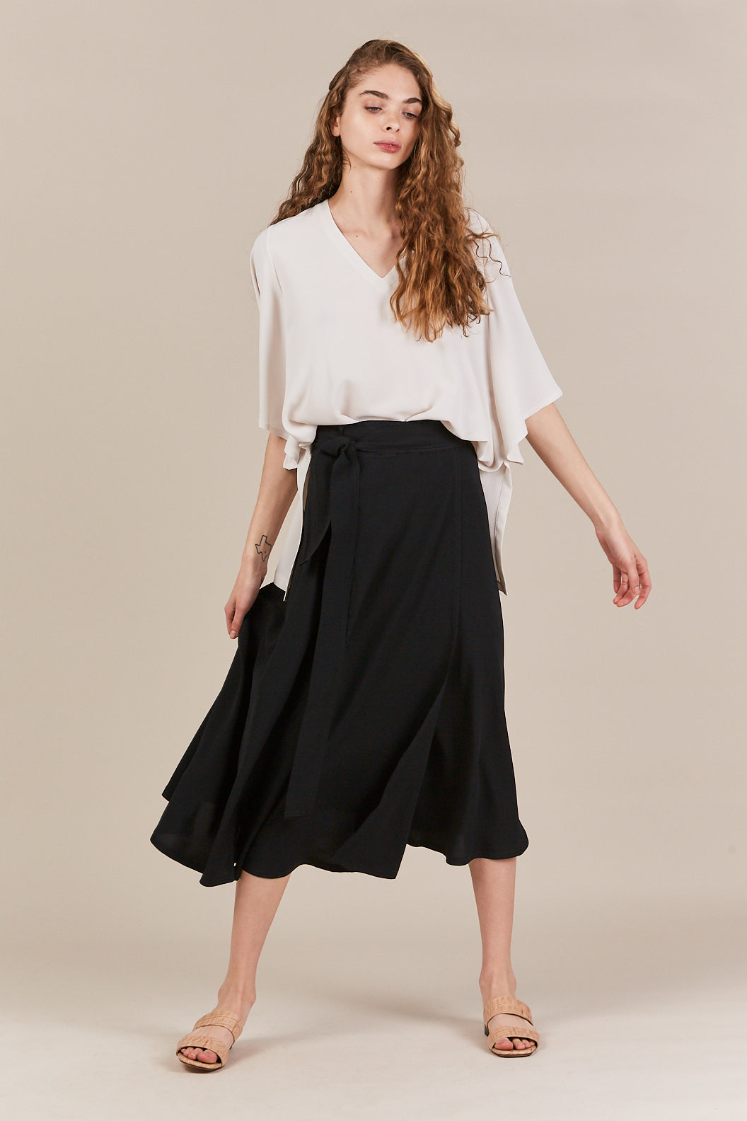 Veronique Leroy - wrap skirt