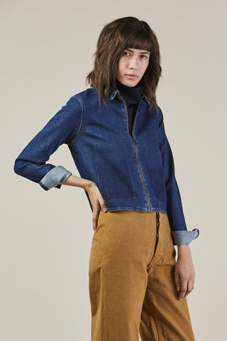 Jane Pocket, Blue Raw