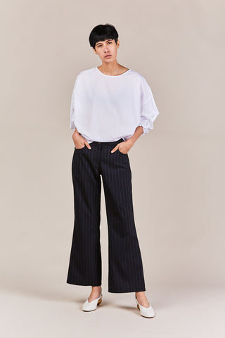 esther stripe crop pant