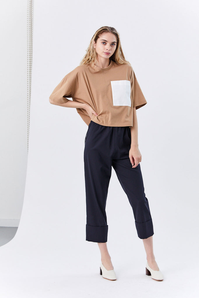 Molly Pull on Pant, Navy