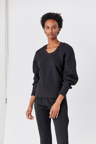 Beetle Sweatshirt, Black