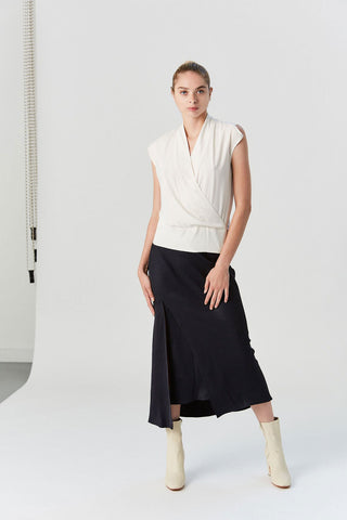 Bias Slip Skirt, Ink Jet