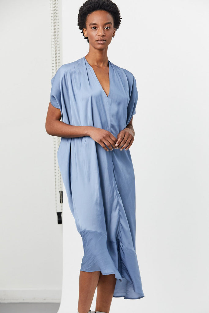 Zero + Maria Cornejo - Lila Dress, Dusty Blue