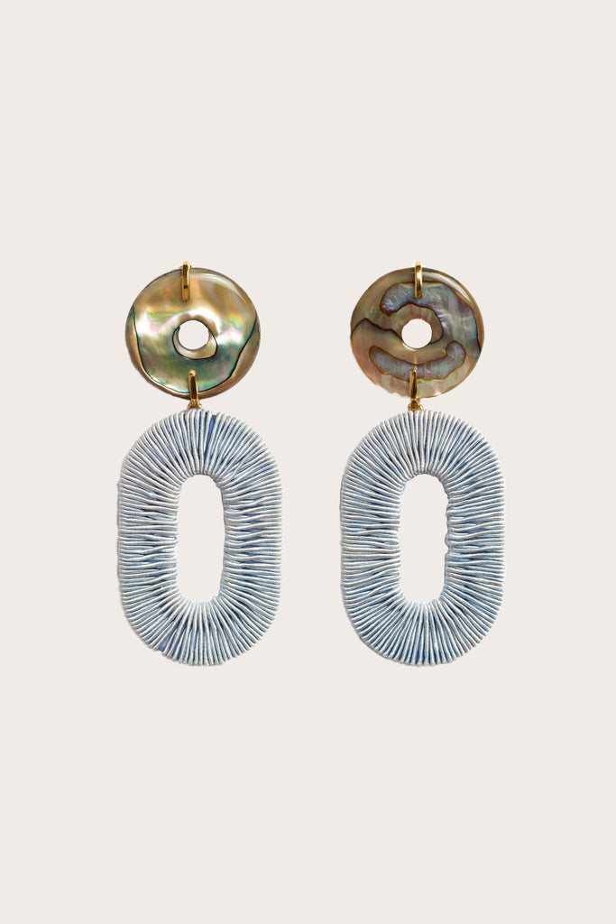 Lizzie Fortunato - Adriatic Earrings