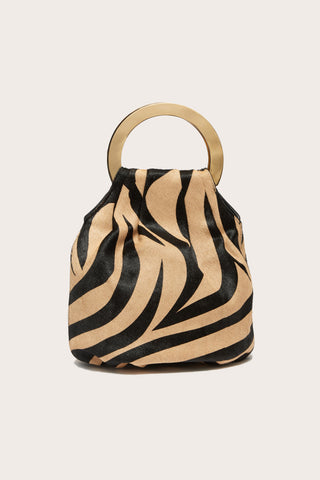 Alpine Bag, Tan Zebra