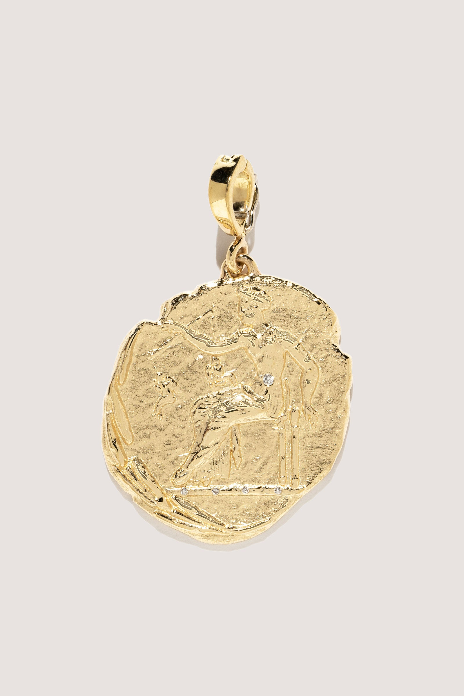 AZLEE - Large Aphrodite Coin, Gold