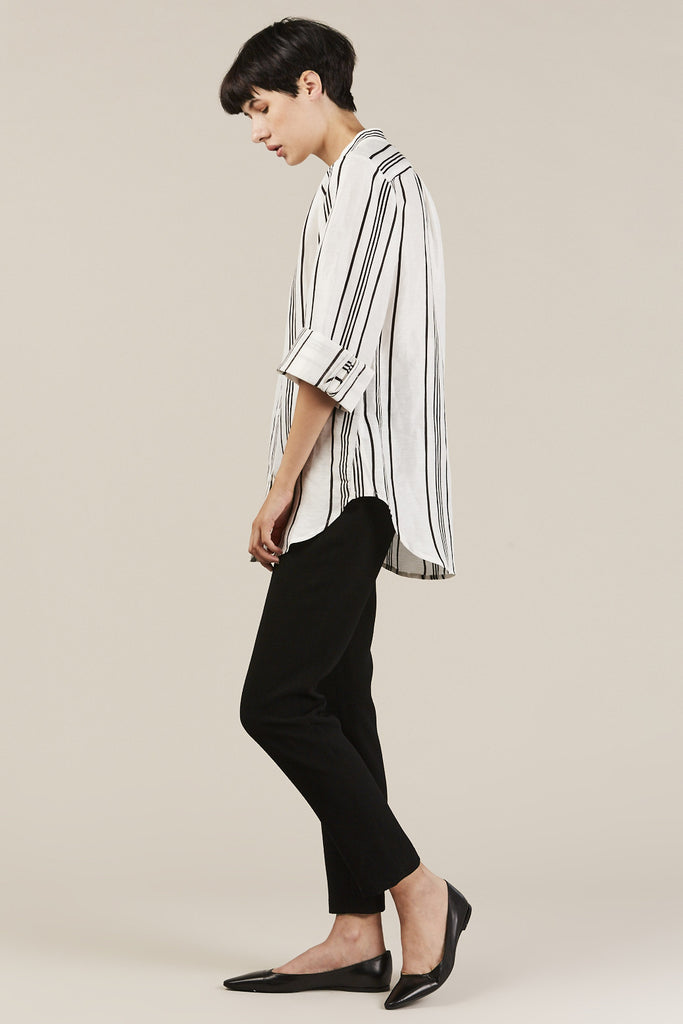 Aster Button Down, Stripe
