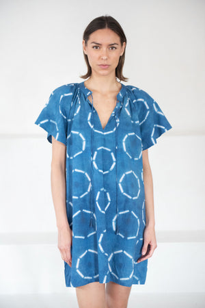APIECE APART - sur mini dress, shibori