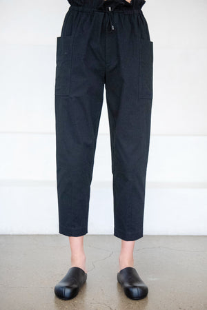 Apiece Apart - vale carrot pant, black