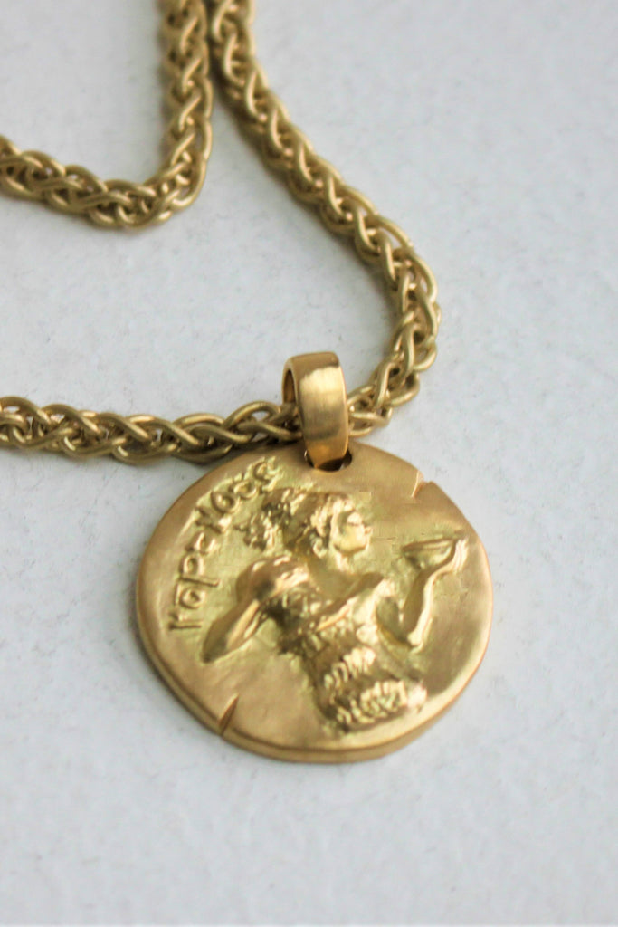 Carolina Wickenburg - Aquarius Pendant, Gold