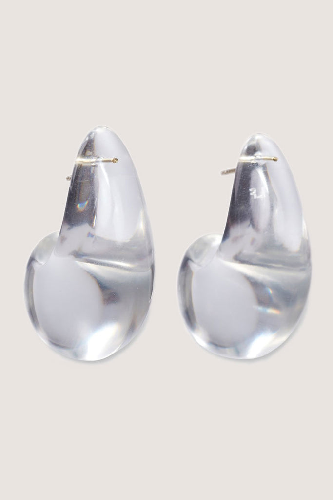 Lizzie Fortunato - Arp Earrings, Clear