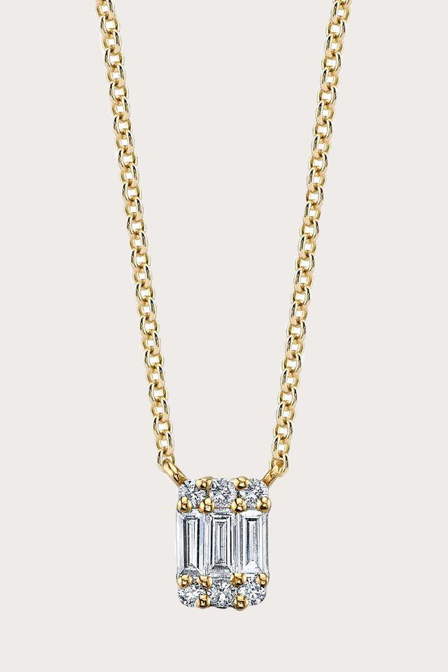 Gabriela Artigas - Baguette Axis Necklace, Gold